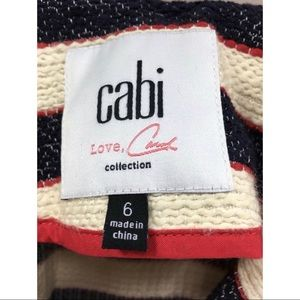 CAbi Jackets & Coats - Cabi Women's Love Carol Collection Stripped Blazer